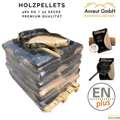 HOLZPELLETS OLIMP Premium-Qualität 480 kg