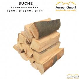 Buchenholz auf Palette